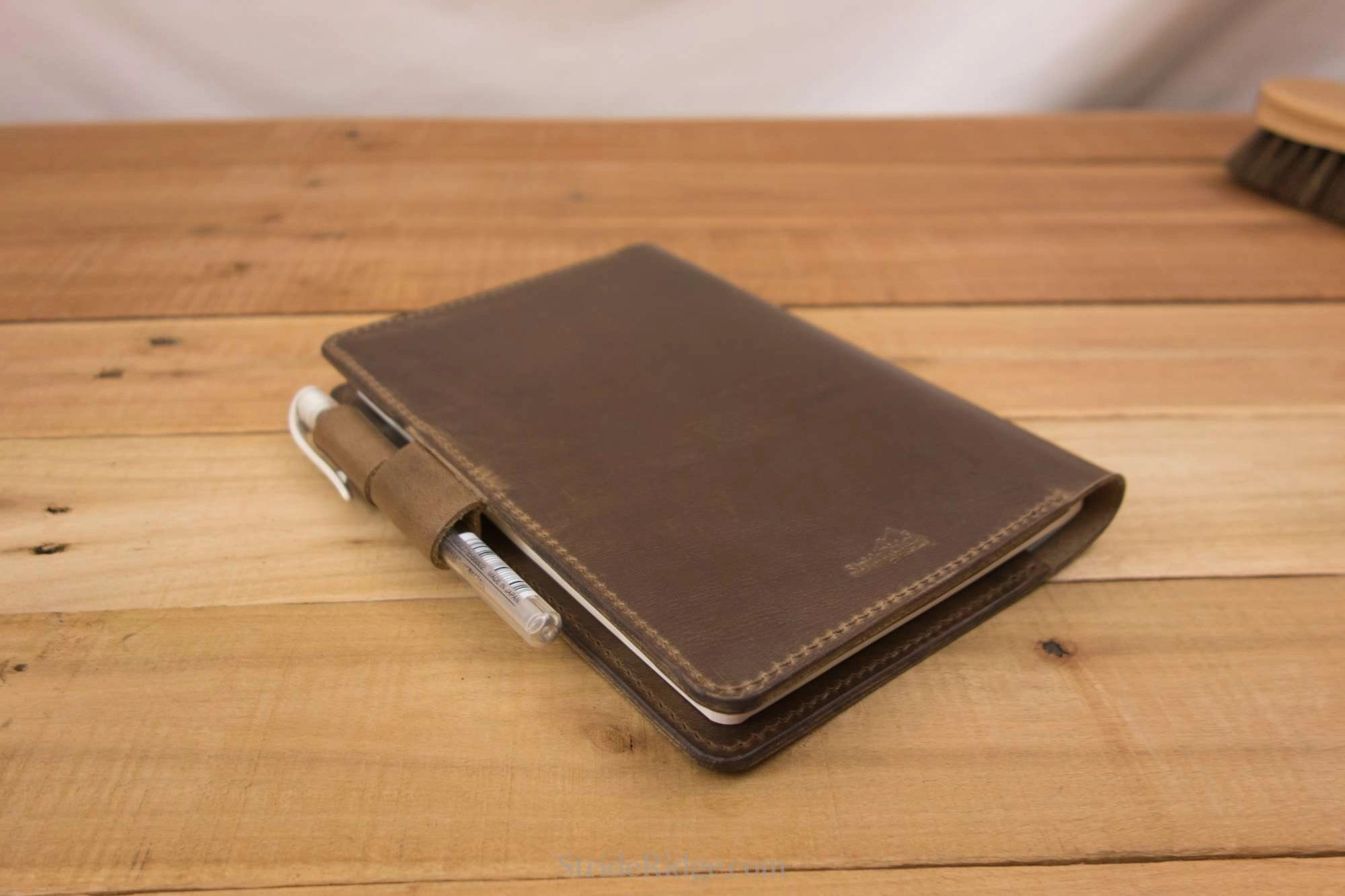 Stalogy 365 Days Notebook Cover - Pen Loops - B6 - Natural