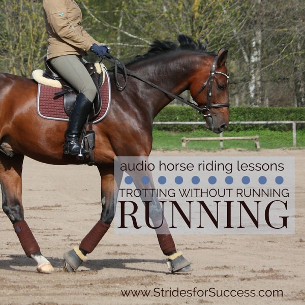 Trotting Without Running | Audio Horse Riding Lessons