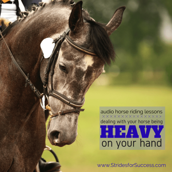 Dealing with a Heavy Horse