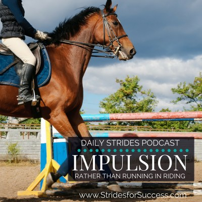 True Impulsion versus Running when Riding