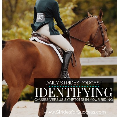 Identifying Causes Versus Symptoms in Your Riding