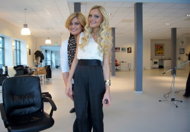 """One of several famous bloggers, """"fotballfrue"""" or mainly Caroline Berg Eriksen and Trine Grung. back in 2013, i think.."""