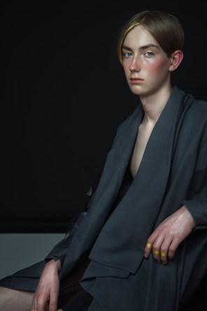 Model: Arthur Team Models - Desinger: Alva Brosten and James Lazar Braathen @JLB by James - Makeup, styling and photo: Sølvi Strifeldt