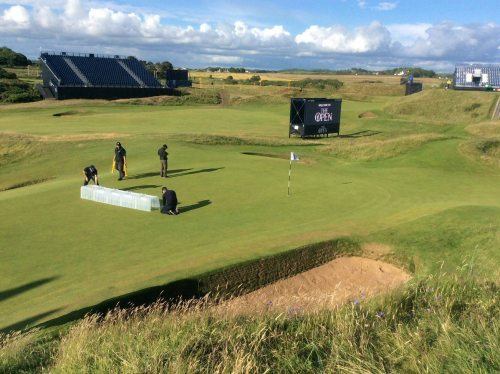 STRI Performance testing at the Open 2016, Royal Troon