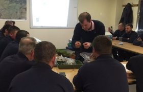 Regional training for groundstaff and course managers