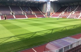 Hearts install new state-of-the-art pitch