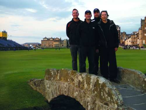 The STRI team at The Open Championship in St Andrews 2015