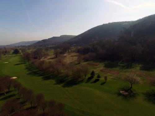 Tir Gwyllt, or 'wild land' at Abergele Golf Club, Outstanding Environmental Project of the Year 2018