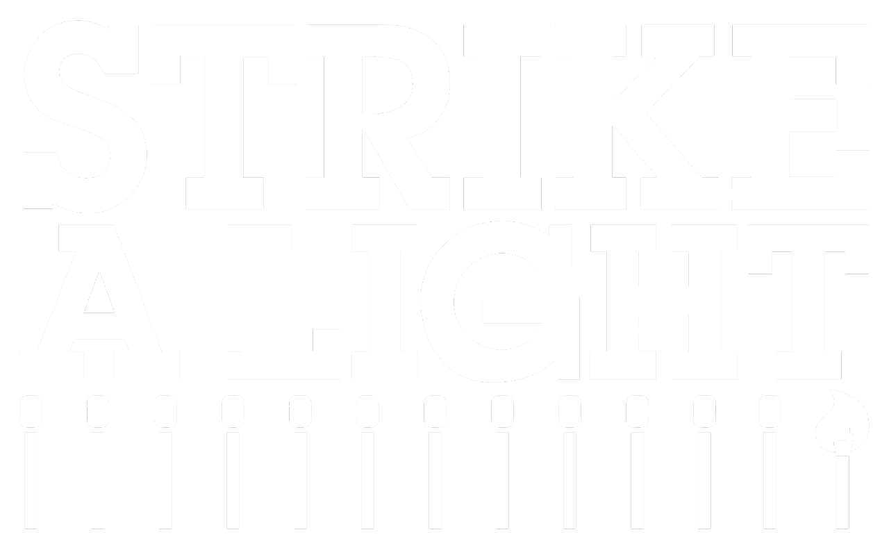 The logo for Strike A Light.