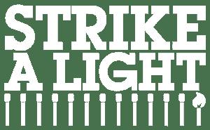 The logo for Strike A Light.