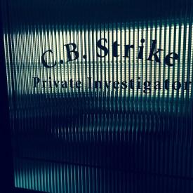 Filming in Strike's office