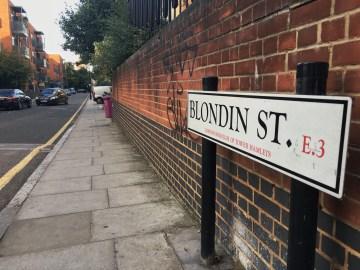 Blondin Street sign