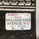 Holland Park Avenue Bubble