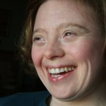 Sarah laughing