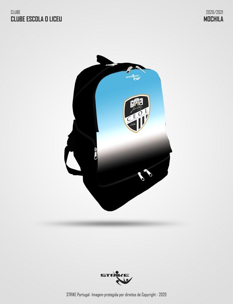 mochila sublimada com camiseiro