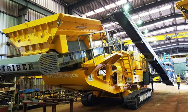 Striker Mobile Crusher manufacturing Australia
