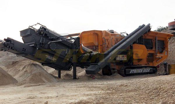 Striker impact crusher HQR1112