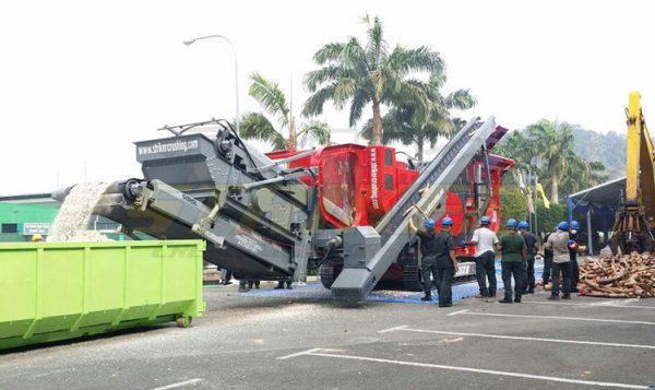 Striker impact crusher Malaysian government