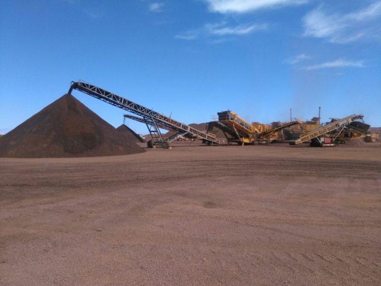 Striker crushing and screening south Australia