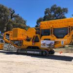 Perfect size machine for the quarry industry
