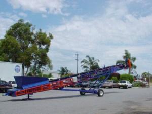 Striker crushing and screening first mobile conveyor