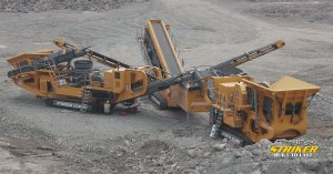 Etrac Crushing & Screening in China