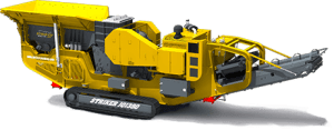 Striker JQ1380 mobile Jaw crusher