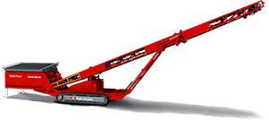 Feeder Stacker conveyor hopper