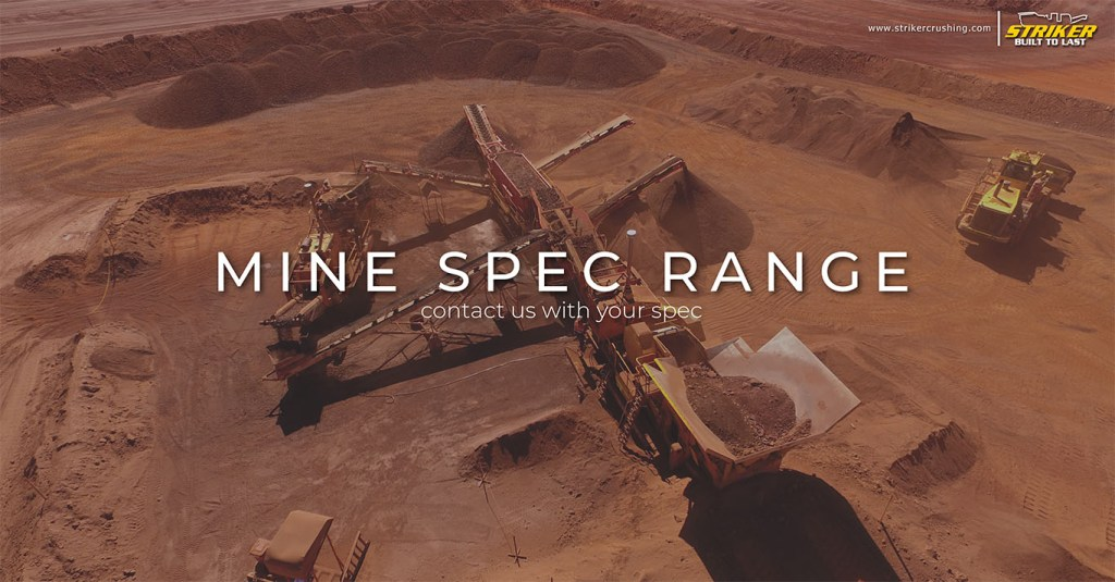 Striker Mining Mine site crushers screens conveyors