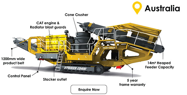 Striker Website - CQ400 mobile cone crusher features (Mail Out)