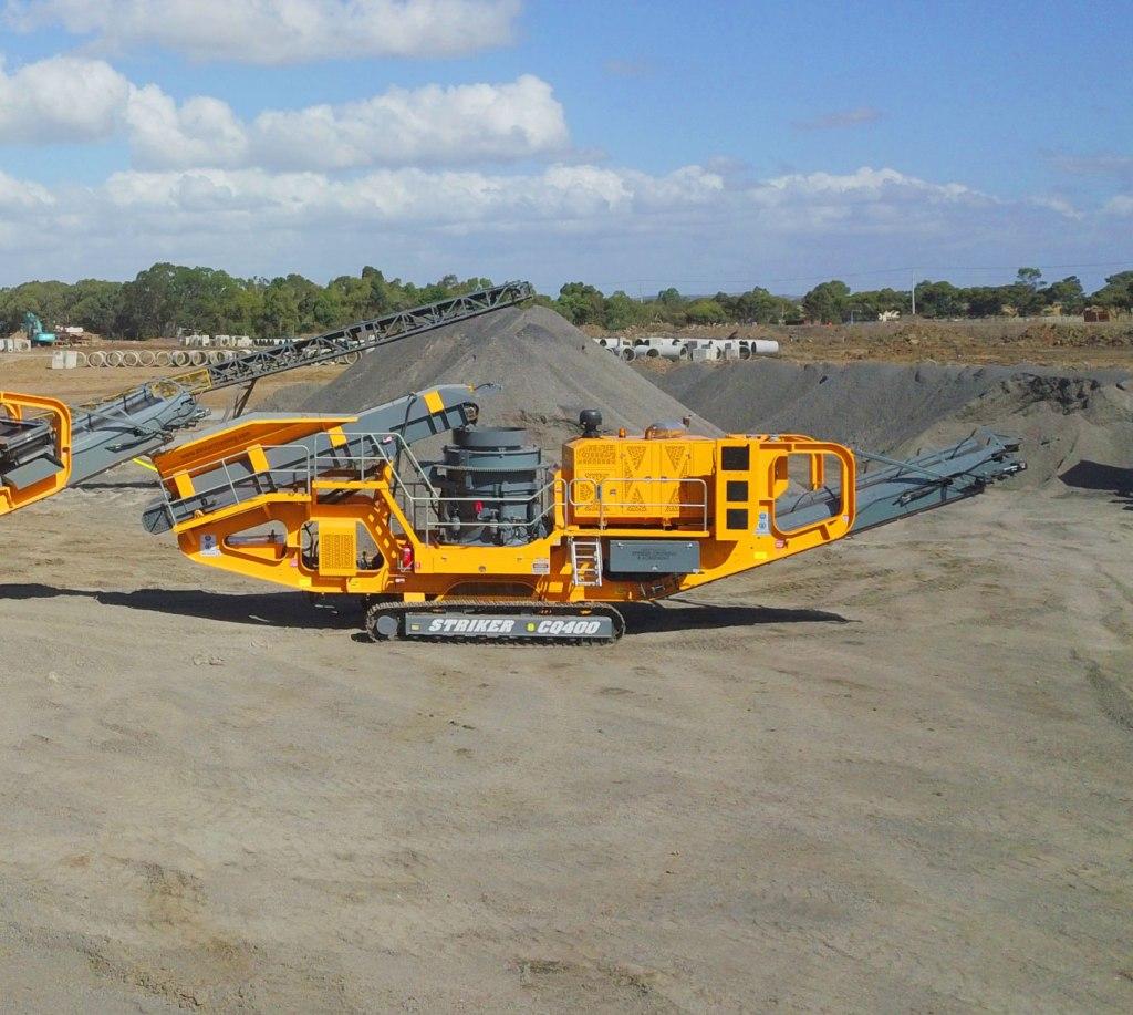 Striker-mobile-cone-crusher-Australia-1
