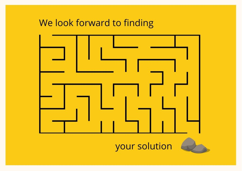 We look forward to finding your solution