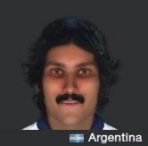 Ron Jeremy's bastard Argentine son.
