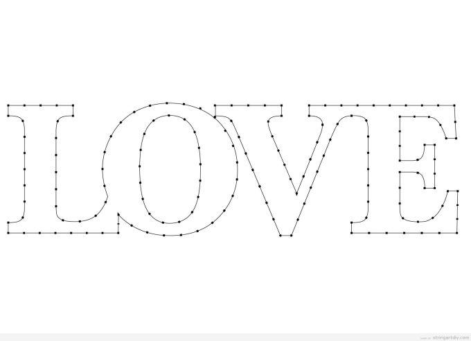 String art letters pattern textpoems string art archives page 3 of 39 diystring diy maxwellsz