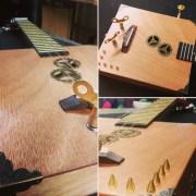The Steampunk - Electric Cigarbox Ukulele
