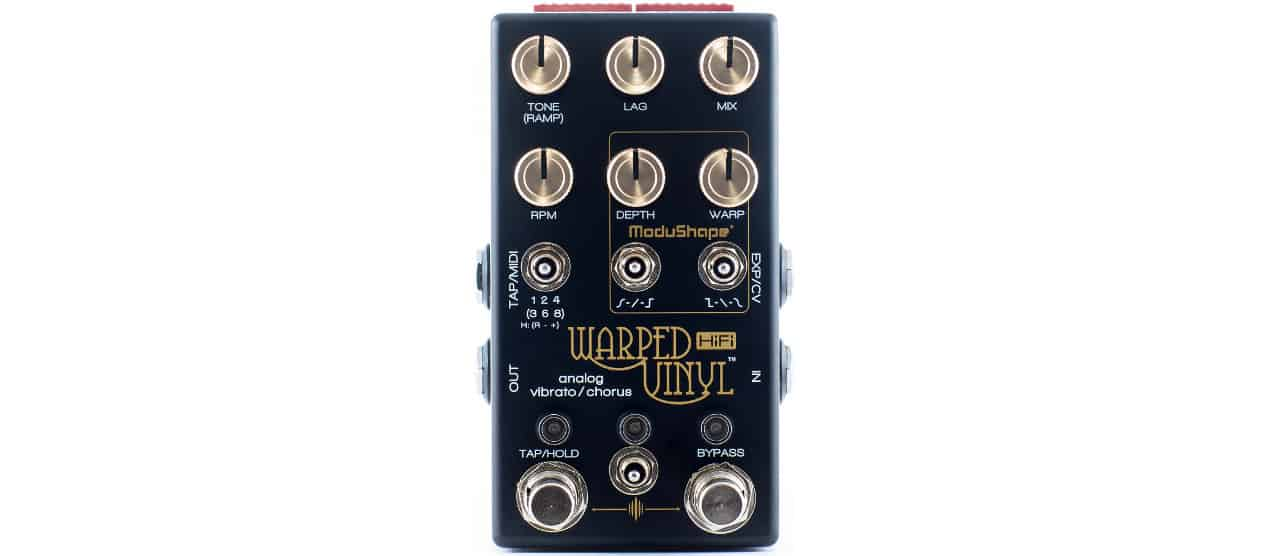 Warped Vinyl HiFi from Chase Bliss Audio   Solid Stomps