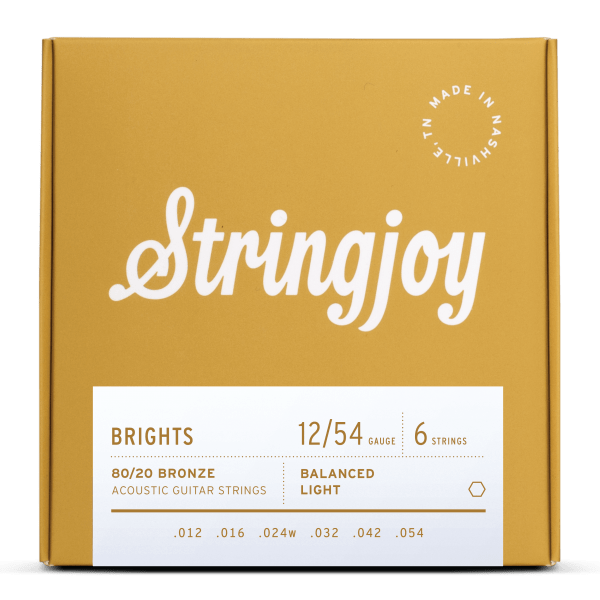 best guitar strings acoustic brights