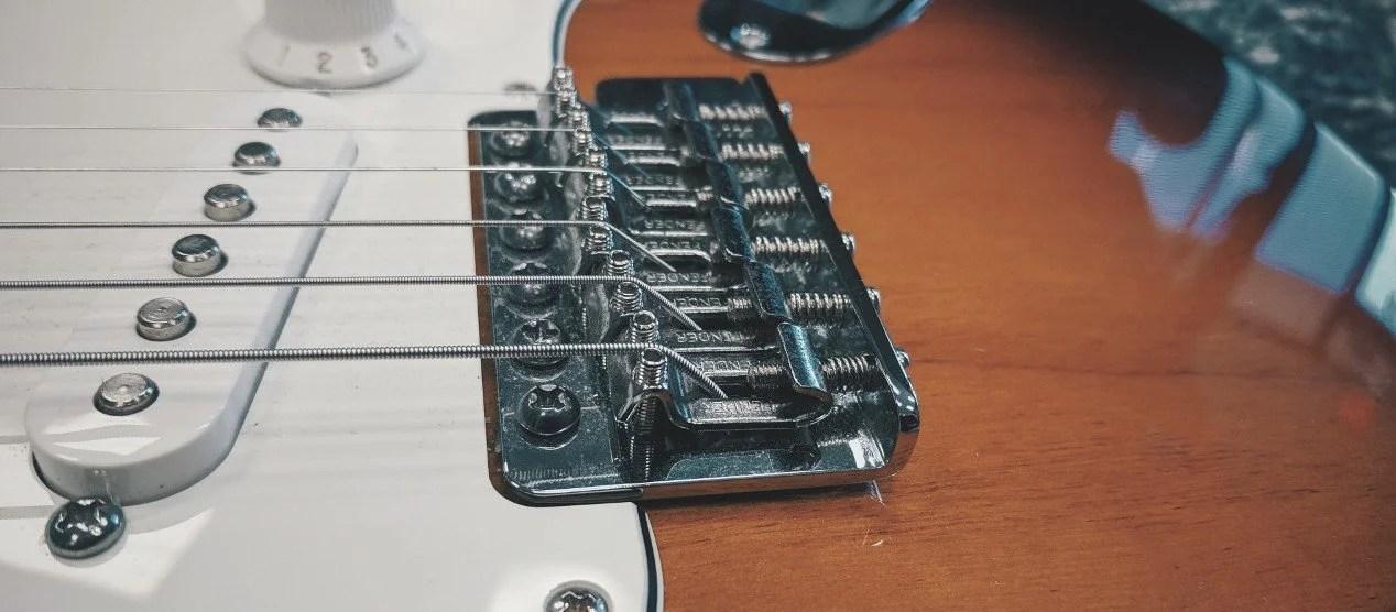 Adjusting Guitar Action on a Fender-Style Bridge