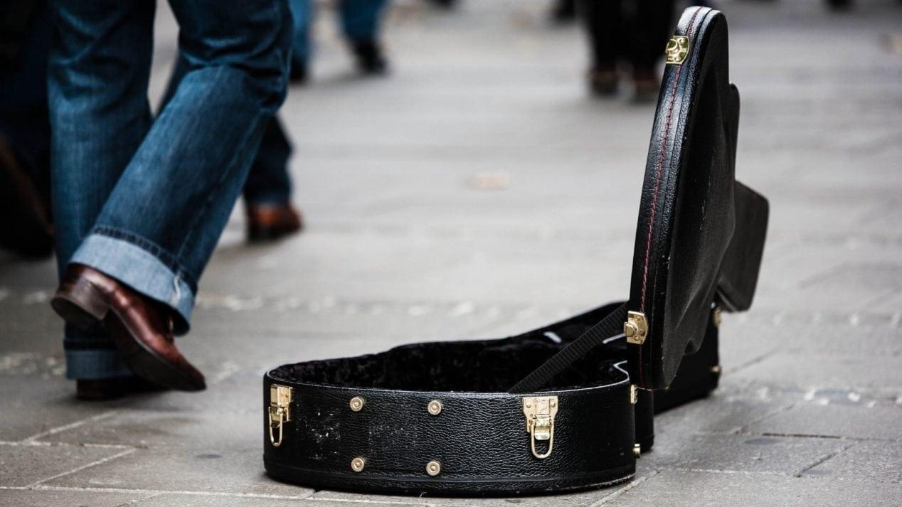 Empty Guitar Case