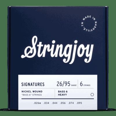 Stringjoy Signatures | Bass VI Balanced Heavy Gauge (26-95) Nickel Wound Guitar Strings