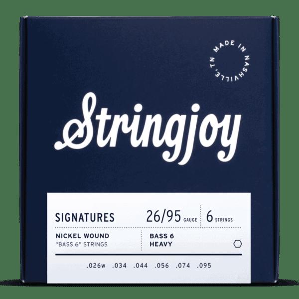 Stringjoy Signatures   Bass VI Balanced Heavy Gauge (26-95) Nickel Wound Guitar Strings