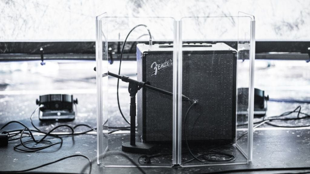 How to recording electric guitar with a dynamic microphone