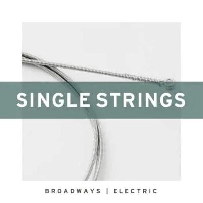 Single Pure Nickel Electric Guitar Strings