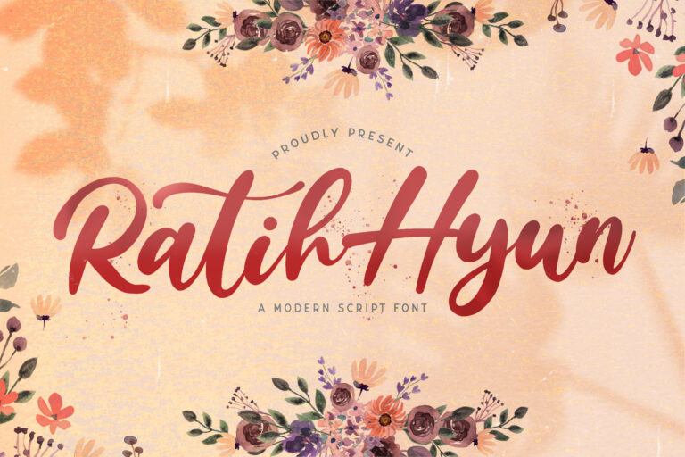 Preview image of Ratih Hyun – Lovely Calligraphy Font