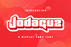Jodaguz - Display Sans Font