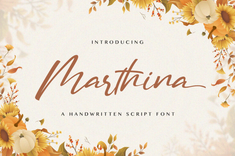 Preview image of Martina – Handwritten Font
