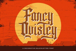 Fancy Quisley - Blackletter Font