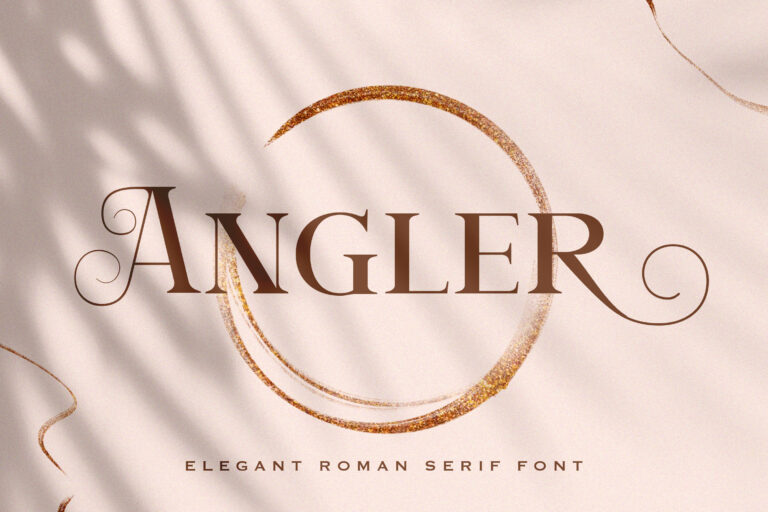 Preview image of Angler – Roman Serif Font