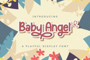 Baby Angel - Playful Display Font
