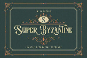 Super Byzantine - Decorative Font